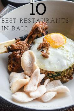 Top Ten Best Restaurants in Bali