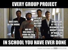 Funny pictures about Group Projects Explained. Oh, and cool pics about Group Projects Explained. Also, Group Projects Explained photos. Grad School Meme, Middle School Memes, Funny School Memes, Crazy Funny Memes, Funny Teacher Memes, School Memes Clean, Funny Quotes About School, Clean Funny Memes, School Quotes