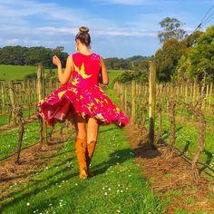 Exploring @morningsun_vineyard ✔️  #thefashionadvocate #morningsun #morningsunvineyard #vineyard #exploring #madeinmelbourne #melbourne #redhill #melbournetodo #colourpop #winetime #outdoors #madeinmelbourne #melbournemade #ausmade #aushandmade #australianfashion
