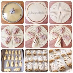 165 pieces Creative of homemade pastries - Delicious Food Bread Recipes, Cookie Recipes, Pastry Design, Bread Art, Bread Shaping, Apple Cookies, Homemade Pastries, Puff Pastry Recipes, Savory Pastry
