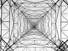 WOR radio transmitting tower. 1935 :: Margaret Bourke-White photographer.