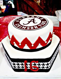 University of Alabama Graduation Cake University of Alabama