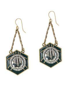 Lulu Frost for J.Crew Midnight Moon Earrings #refinery29