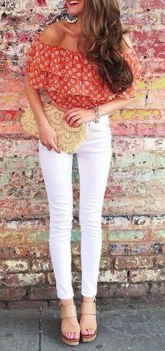 summer outfits off the shoulder