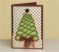 Teresa Collins Dec 25th Cart This simple but beautiful card is sure to spread holiday cheer!
