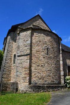 Eglise Saint-Aurélien te Glandon (Haut-Vienne 87)
