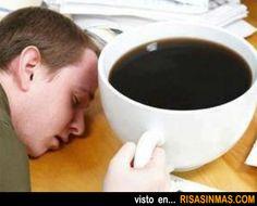 El café de los lunes.