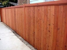 Redwood-Fence
