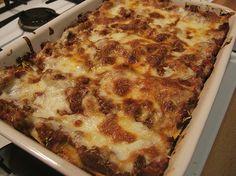 World's best lasagna: Texas man has top recipe on foodie website Top Recipes, Great Recipes, Pasta Recipes, Recipies, Worlds Best Lasagna, My Favorite Food, Favorite Recipes, Baked Lasagna, Best Italian Recipes