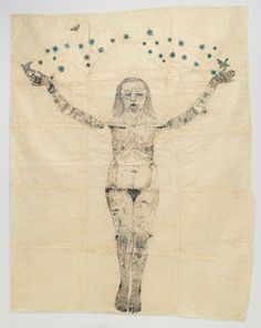 Find the latest shows, biography, and artworks for sale by Kiki Smith. Using a multitude of mediums and materials, Kiki Smith's collections are meditations o… Kiki Smith, Feminist Art, Art Graphique, Art Plastique, Oeuvre D'art, American Artists, Figurative Art, Art Inspo, Les Oeuvres