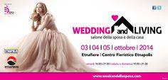 Dal 3 al 5 Ottobre ad Etnafiere, Belpasso, Catania, un trionfo d'amore con la Fiera Wedding and Living