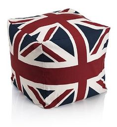 Rule Britannia with this kitsch bean bag from Marks & Spencer, £99