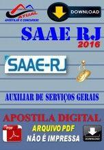 Apostila Digital Concurso Prefeitura de Barra Mansa SAAE RJ Auxiliar de Servicos Gerais 2016