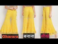 Suit Fashion, Kurti, Boho, Stitching, Pattern, Pants, Outfits, Youtube, Costura