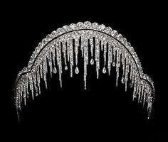 The Chaumet Ice Frost Tiara, 1904.