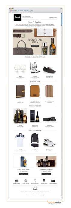 Brand: Harrods | Subject: Hand-picked Father's Day gifts