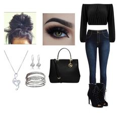 """""""OOTD #90"""" by bokwitmebrunz ❤ liked on Polyvore featuring JustFab, BERRICLE and MICHAEL Michael Kors"""