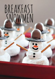Breakfast Snowmen                                                                                                                                                                                 More