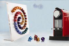 Milky Way Nespresso Coffee Pod Holder / por AtelierDesignware