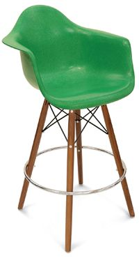 A Counter Stool Dowel Swivel Arm Shell Modernica - US co. options for swivel, legs, arms, etc.