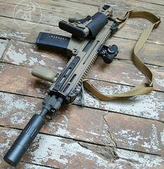 Built like a tank. @czusafirearms 805 Bren SBR. #gunsdaily #weaponsdaily…