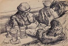 Norman Cornish - Dominoes and pints (double sided)
