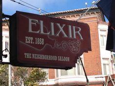 Elixir - Mission Dolores - San Francisco, CA