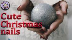 DIY Cute  Christmas  Acrylic Nails Desing Cute Christmas Nails, Nail Tutorials, Acrylic Nails, Youtube, Diy, Bricolage, Do It Yourself, Nail Art Tutorials, Acrylics
