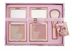 7dc7a4d9f25289 Ted Baker Blushing Bloom Rose Gold Make up Blusher   Brush Gift Set Boxed  for sale online