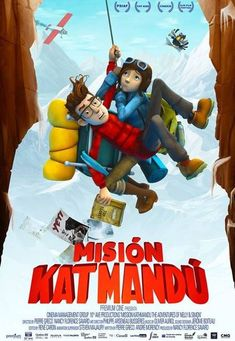 2017 - Misión Katmandú - Mission Kathmandu: The Adventures of Nelly & Simon Trailers, Detective, Film Movie, Movies Online, Movies And Tv Shows, Ronald Mcdonald, Cinema, Animation, Movie Posters