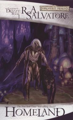 The Legend of Drizzt, book 1.