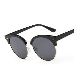 65b0c5b1d951 designer Round Sunglasses fashion Female eyewear
