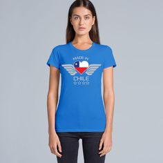 Happy New Year 2016, #verozzie is back full of energy and bringing you the best in custom tshirts.   Have a look at this #tee for all sexy chilean girls living overseas, is ONLY 20 bucks, get it now!!!  http://www.verozzie.com/products/wafer-tee-made-in-chile  #womenfashion #womenswear #loveshopping #sydneyfashion #australia #outfit #motivated #melbourne #melbournelife #melbourneblogger #sexy #instaday #instapic #instacute #style #trending #customdesign #chile