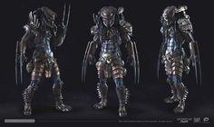 Predator Elite Warrior by on DeviantArt Predator Alien, Apex Predator, Alien Character, Character Art, Predator Costume, Samurai, Giger Art, Futuristic Armour, Alien Concept Art