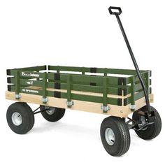 Berlin Amish-Made All-Terrain Tires Loadmaster Ride-On Wagon, Hot Pink Berlin Bicicletas Raleigh, Wood Cart, Beach Wagon, Toy Wagon, Beach Cart, Body Craft, Wooden Wagon, All Terrain Tyres, Radio Flyer
