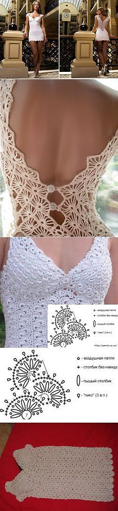 O vestido branco pequeno baseado no modelo Luba Sergeeva