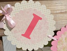 Girl Baby Shower Banner  Baby Shower Banner by CraftedOccasions, $30.00