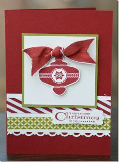 Stampin'Up! Christmas Colectables