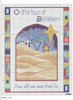 Gallery.ru / Фото #31 - CrossStitcher 167 рождество 2005 - tymannost O LITTLE TOWN OF BETHLEHEM