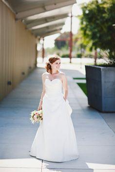 oscar inspired wedding dress