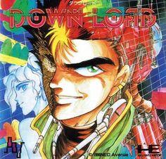 Down Load / ダウンロード (PC Engine - Alpha System - 1990)  Artist: Masaomi Kanzaki / 神崎 将臣  https://twitter.com/kanzakin