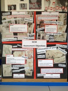 Twitter / Jobaker9: Art assessment objectives display ...