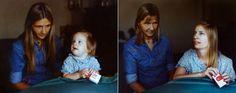 Kinderfoto's vs volwassen versies
