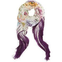Ring o roses fringe scarf   Swash