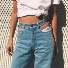 Y/PROJECT cut out jeans