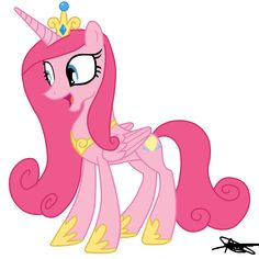Princess Cadence Version Pinkie Pie by ~AndreaMelody on deviantART