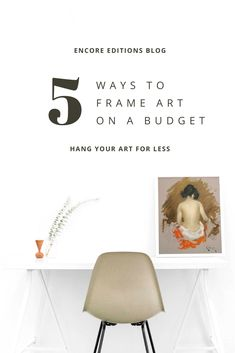 Framing on a budget is completely possible and might even be fun, but takes a bit more planning than buying art already framed. Here we will explore 5 easy ways to frame your favorite art for less. 5 Ways, Custom Framing, Buy Art, Framed Art, Budgeting, Explore, Easy, Blog, Fun