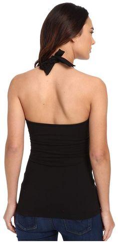 Susana Monaco - Wrap Halter Top Women's Sleeveless