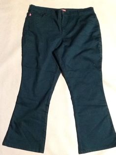 a8fc94f1f13 Woman Within size 22W plus size green bootcut women s Natural fit pants. V  53