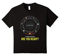 Kids Cryptocurrency T-shirt, Bitcoin, Ethereum, Litecoin, T-shirt 6 Black